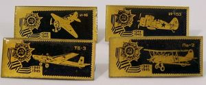 Original Russian Pin Badges - WWII Aircraft Heroes - 1941-45 x 4 Badges